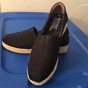 BOBS by Sketchers espadrille wedge. Size 8W